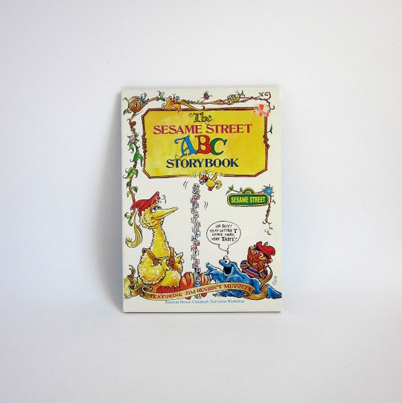 The Sesame Street ABC Storybook 1986 Paperback