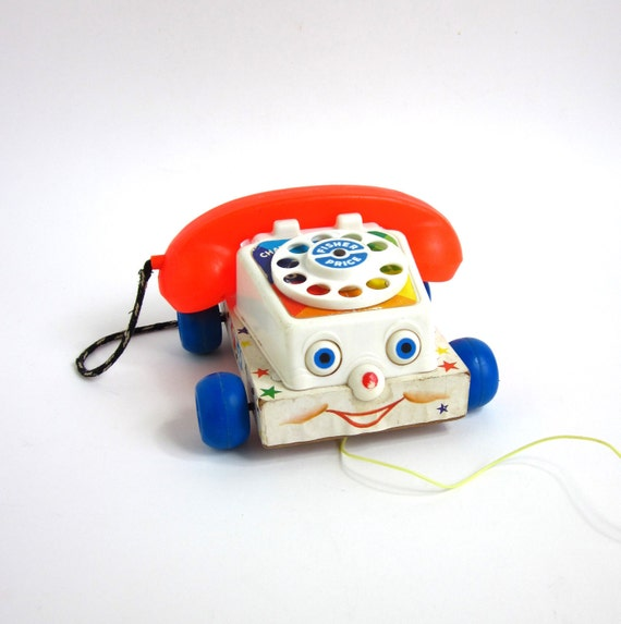 Fisher Price Chatter Telephone 1961