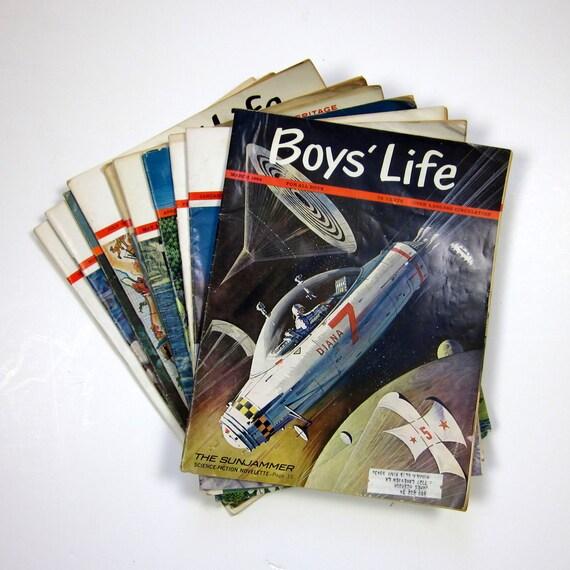 Boys Life Magazine 1964 / Set of 10