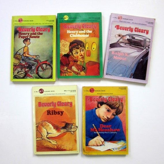 Beverly Cleary Paperbacks 80s / Set of 5