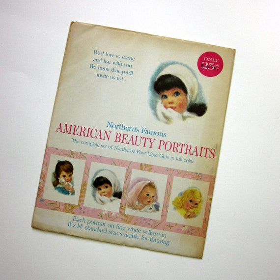 SHOP SALE - Northern's Famous American Beauty Portraits 50s / Sealed
