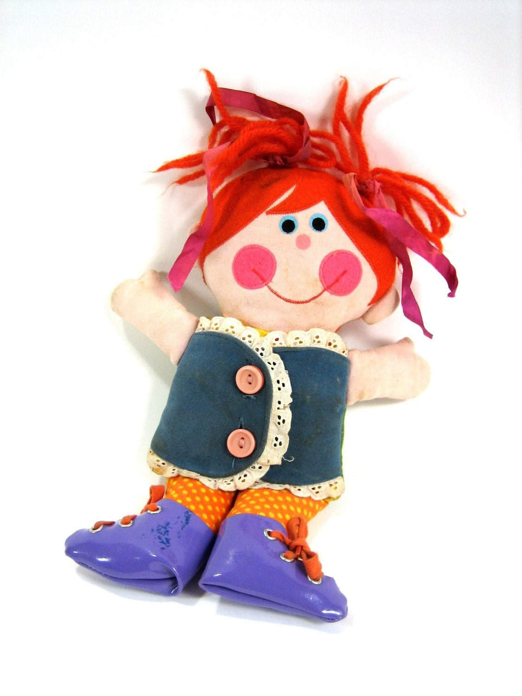 Playskool Dressy Bessy Teaching Doll 1970