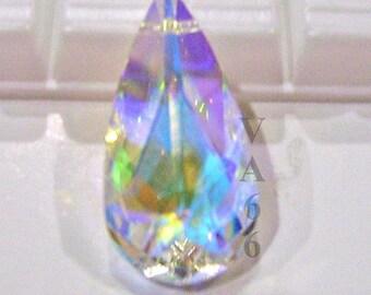 24x12mm 6100 Pendant Pear Teardrop Swarovski Crystal U Choose Color Design your Own Necklace Pendant