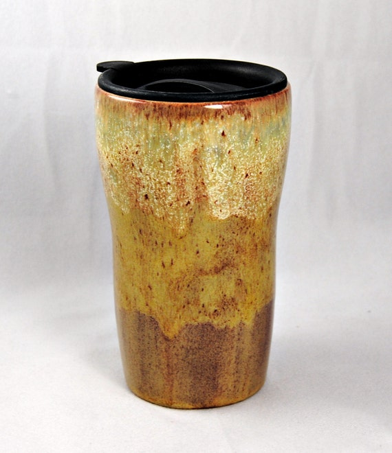 Ceramic Tumbler with a lid
