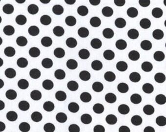 Ta Dot Black and White Dalmation Polka Dots Fabric