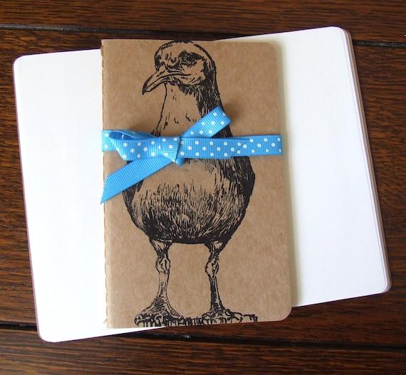 Sale Steven Seagull Notebook Gocco Printed Pocket Moleskine Cahier