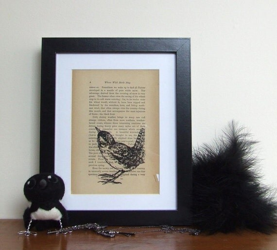 Where Wild Birds Sing Limited Edition Book Print
