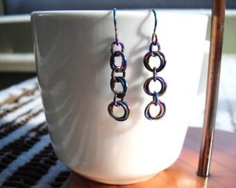 Confetti Ring Earrings