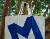 Custom Beach Bag made from Recycled Sails - Great Gift