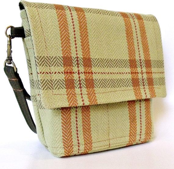 Sarah Hip Belt Bag in AUTUMN PLAID