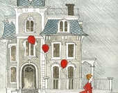 The Bleak House 8.5x11 print