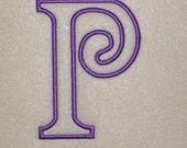 Embroidery Machine Applique Alphabet Monogram Font Set 159