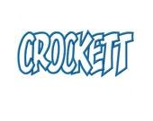 Crockett Embroidery Machine Applique Design 2317