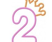 Numbers Embroidery Machine Applique Alphabet Font Monogram Designs 2231