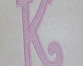 XXL Curlz Embroidery Machine Monogram Font Applique Alphabet Set 2461