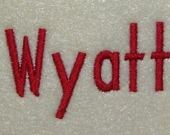 Embroidery Machine Monogram Alphabet Font Set 137