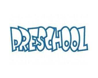 Preschool Embroidery Machine Applique Design 2348