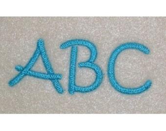 Embroidery Machine Alphabet Monogram Font Designs Set 111