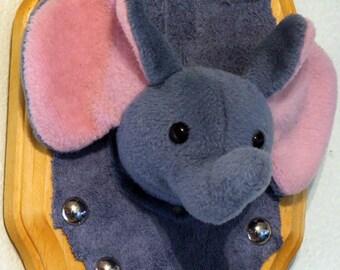 Mounted Baby Elephant