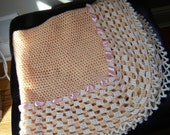 Vintage Crochet baby blanket, Newborn Crochet baby Blanket, Home  Living Bedding, Blankets & Throws Quilts