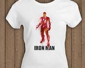 the Avengers IRON MAN , marvel t-shirt