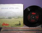 "MARCH MADNESS SALE Rare Vinyl Record The Stranglers - Strange Little Girl b/w Cruel Garden  7"" 45Rpm 1982 Uk Rock Import"