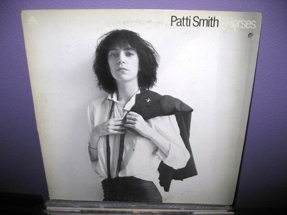 Horses Patti Smith RARE VINYL RECORD Patt...