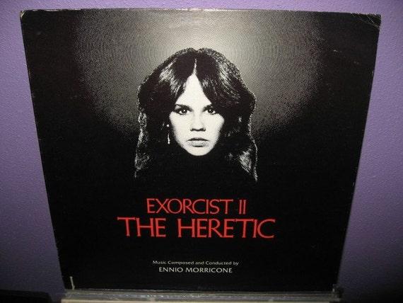 Vinyl Record The Exorcist II - The Heretic Original Soundtrack LP NM- 1977 Horror Halloween Classic