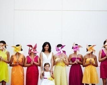 Custom Pinwheel Wedding Set by Rule42 for MermaidLove2