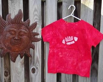 Kids Football Shirt, Red Football Shirt, Boys Football Shirt, Girls Football Shirt, Super Bowl Sunday Shirt, Football Kids Shirt (4/5) SALE