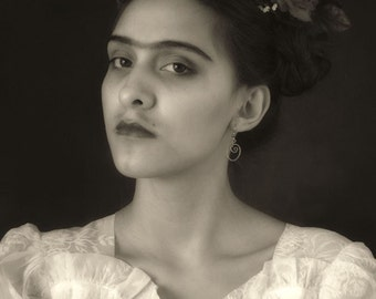 The Eyes of Frida Kahlo  - Homage in Photographic Series- 8x10 Archival Photographic Print