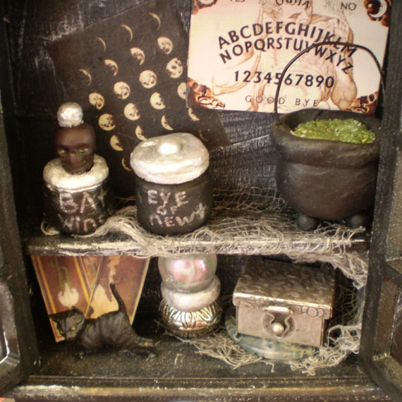 Miniature Witch's Cabinet