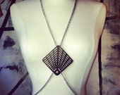 Statement Wooden and Chain Body Harness