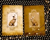 Mr.Rabbit&Mrs.Rabbit Post Card Set