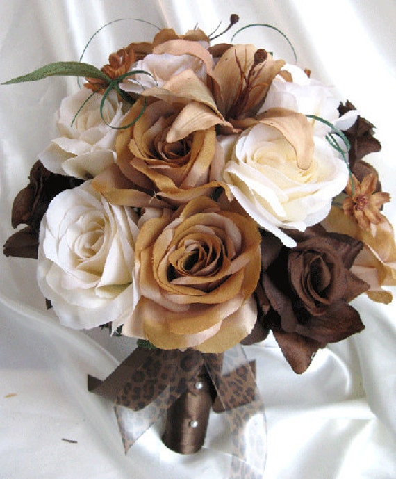 Brown Wedding Flowers: Southern Blue Celebrations: BROWN WEDDING BOUQUETS IDEAS