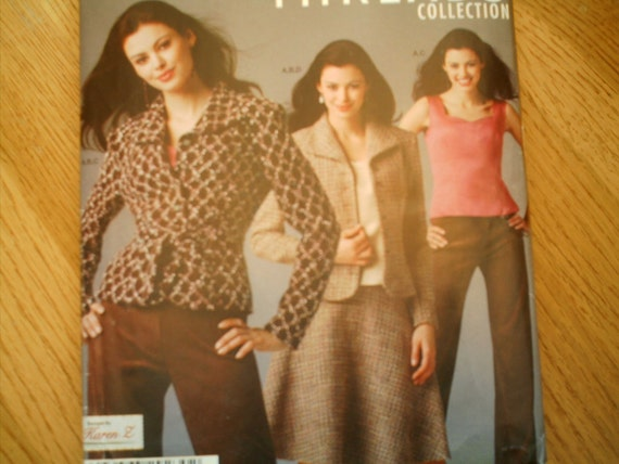 SALE Simplicity 0570 Misses Camisole Skirt Pants and Jacket Sizes 12-20