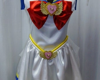 Super Sailor Moon Costume Cosplay Adult Women's Size Custom Fit 4 6 8 10 12 14