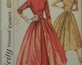Simplicity 2230 - One-Piece Dress (1957 pattern) Size 14, Bust 34