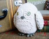 Victor the Snow Owl OOAK