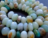 1/4 Strand - Light Peruvian Opal Faceted Rondelles (No. 1226)