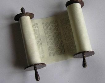 Torah scroll for Tefillin Barbie
