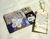 Mini Crazy Quilt - ACEO - Hope Gift Card Holder