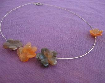 Cornelian necklace