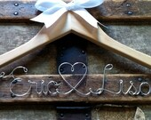 Personalized Bridal Hanger, Custom Wedding Dress Hanger, for Bride, a lovely gift for Bridesmaid or Graduate