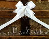 RUSH ORDER (Standard Shipping) -- Personalized Bridal Hanger, Custom, For a Bride