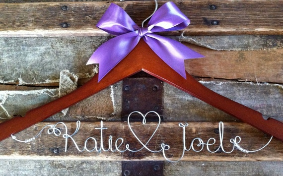 Custom Listing for stacigigeous -- Personalized Bridal Hangers, Custom Wedding Dress Hangers For Wedding Party
