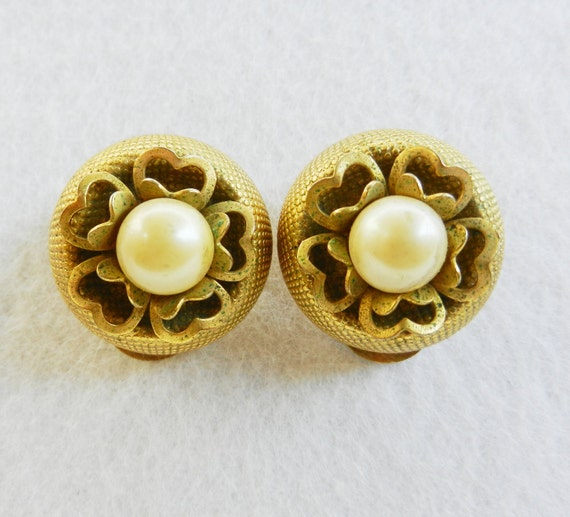 Original 1950s vintage  - spectacular italian earrings, collectibles, typical design and wonderful-art.992-