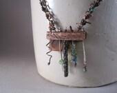OOAK Handmade Artist Necklace winds of change