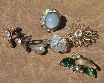 ANTIQUE Jewelry lot Reuse
