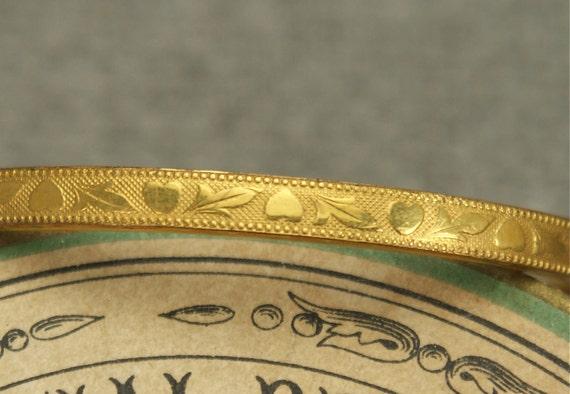 Victorian Baby Bangle Bracelet